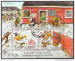 Finland 1994 Blok Hobbies GB-USED - Gebraucht