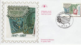 MONACO FDC 1997 EXPO PHILA PACIFIC97 - FDC