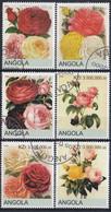 ANGOLA Roses 3,used - Rose