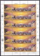 UNO GENF 239-242, Kleinbogen, Postfrisch **, Klimaveränderungen Durch Umweltverschmutzung 1993 - Blocks & Kleinbögen