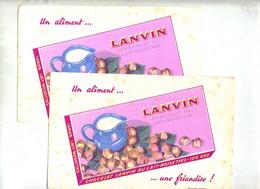 Buvard Chocolat Lanvin - Chocolat