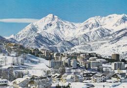 (R220) - SAUZE D'OULX (Torino) - Panorama, Sullo Sfondo Il Monte Chaberton - Non Classificati