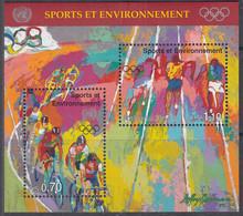 UNO GENF  Block 8, Postfrisch **, 100 Jahre Olympische Spiele Der Neuzeit, 1996 - Blocks & Kleinbögen