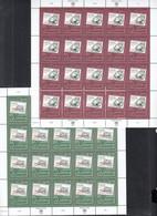 UNO GENF 319-320, 2 Kleinbogen, Postfrisch **, Hommage An Die Philatelie, 1997 - Blocks & Kleinbögen
