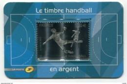 RC 20478 FRANCE N° 197 HANDBALL 5€ ARGENT AUTOADHÉSIF NEUF ** - Pallamano