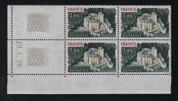 FRANCE  Coin Daté **   N° Yvert  1871 Bonaguil  20.5.76  Neuf Sans Charnière CD - 1970-1979