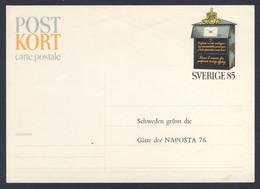 Sweden Sverige 1976 Postkarte Postcard - Briefkasten, Mailbox, Brevlåda, Boites Aus Lettres, Brievenbus - Posta