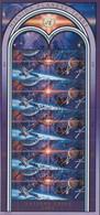 UNO GENF 219-220, Kleinbogen, Gestempelt, Internationales Weltraumjahr 1992 - Blocks & Kleinbögen