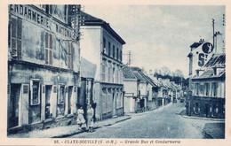 Claye Souilly Grande Rue Et Gendarmerie - Polizei - Gendarmerie