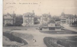 DE HAAN / ALGEMEEN ZICHT OP HET TRAMSTATION 1914 - De Haan