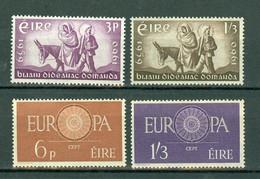 Eire 1960 Yv. 144/45**, 146/47** Europa MNH - Nuovi