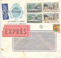 Lupo/Expres -Cover Bordeaux - New York 1962 - 1960-.... Brieven & Documenten