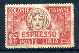 1921 LIBIA N.4 * ESPRESSO - Libia