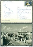 V8325 SOMALIA AFIS 1957 Cartolina Illustrata Da Mogadiscio 2.4.57 Affrancata Con S. 0,45 Di Posta Aerea, FG, - Somalia (AFIS)