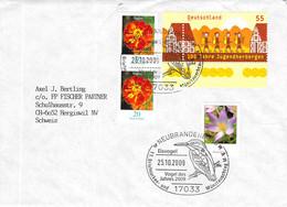 SST Neubrandenburg - Hergiswil Vogel Des Jahres 25.10.2009 - Briefe U. Dokumente