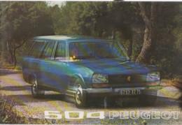 Publicité Peugeot 504   1973 - KFZ