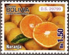 Bolivia 2018 **  CEFIBOL 2406  (2013 #2185) Sagitario Export Fruits: Oranges, Authorized For The Bolivian Post Office. - Bolivia