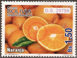 Bolivia 2018 **  CEFIBOL 2374B  (2012 #2126) Export Fruits: Oranges, Authorized For The Bolivian Post Office. - Bolivia