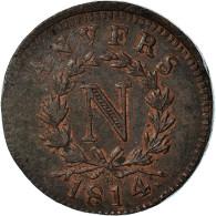 Monnaie, FRENCH STATES, ANTWERP, Napoleon I, 10 Centimes, 1814, Wolschot, TTB+ - D. 10 Centimes