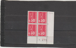 N° 1664 - 0,50 BEQUET - 3PHO -  24° Tirage Du 16.3.73 Au 7.5.73 - 7.04.1973 -- - 1970-1979