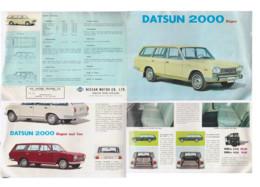 Publicité DATSUM 2000 Wagon - KFZ
