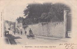 Cpa 7 RUFFEC ROUTE NATIONALE COTE SUD 1903 - Ruffec