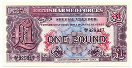 GREAT BRITAIN -1 Pound ND (1948) British Armed Forces. PM22, UNC (GB012) - British Armed Forces & Special Vouchers