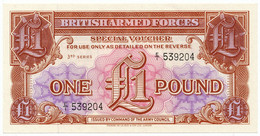 GREAT BRITAIN - 1 Pound ND (1956) British Armed Forces. PM29, UNC (GB014) - British Armed Forces & Special Vouchers