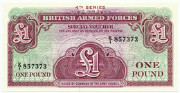 GREAT BRITAIN - 1 Pound (ND) British Armed Forces. PM36, UNC (GB015) - British Armed Forces & Special Vouchers