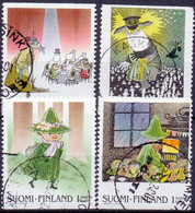 Finland 2000 Moomins GB-USED - Gebraucht