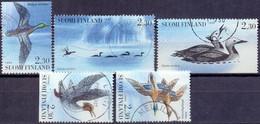 Finland 1993 Watervogels GB-USED - Gebraucht