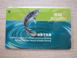 Private Issued GPT Phonecard,1SFIA Polleney Essence Of Fish, Mint - Singapore