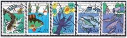Finland 1991 Vissen GB-USED - Gebraucht