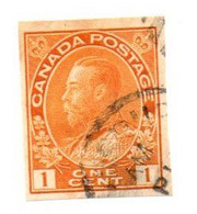 1918 - Canada 108A Effigie - Used Stamps
