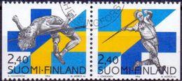 Finland 1994 Finland-Zweden GB-USED - Gebraucht