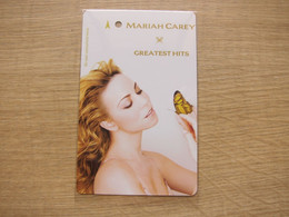 """SMRT Encode Value Special Edition Ticket Card, Mariah Carey """"Greatest This"""" - Singapore"""