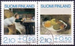 Finland 1991 Pro Filatelia GB-USED - Gebraucht