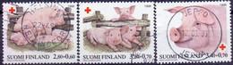 FINLAND 1998 Rode Kruis GB-USED - Gebraucht