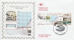 MONACO FDC 1999 50 ANS D'ECONOMIE - FDC