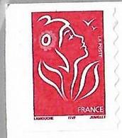 FRANCE  Type Marianne De Lamouche  Auto Adhesif N°49 Année 2005 - Adhésifs (autocollants)