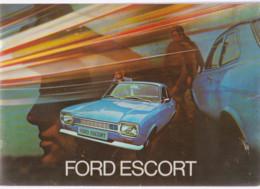 Publicité FORD Escort  1955 - KFZ