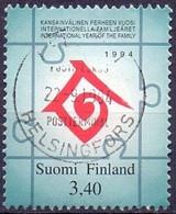 FINLAND 1994 Familiejaar GB-USED - Gebraucht