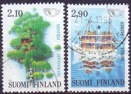 Finland 1991 Nordenzegels GB-USED - Gebraucht