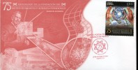 66900  Mexico,  Fdc 2014 Anniversary Of The Foundation Of Diagnostic And Epidemiology - Medicina