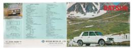Publicité DATSUM 1300 - KFZ