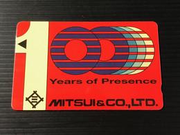Mint Singapore Telecom GPT Singtel Phonecard - MITSUI & CO. LTD, Set Of 1 Mint Card - Singapore