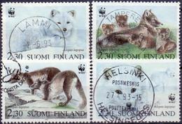 FINLAND 1993 WWF GB-USED - Gebraucht