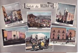 Mezzojuso Vedutine Acquerellate Anni '50 - Altre Città