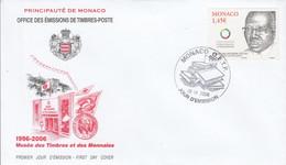 MONACO FDC 2006 LEOPOLD SEDAR SENGHOR FRANCOPHONIE - FDC