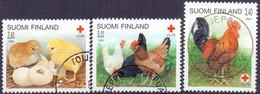 Finland 1996 Rode Kruis Hoenders GB-USED - Gebraucht